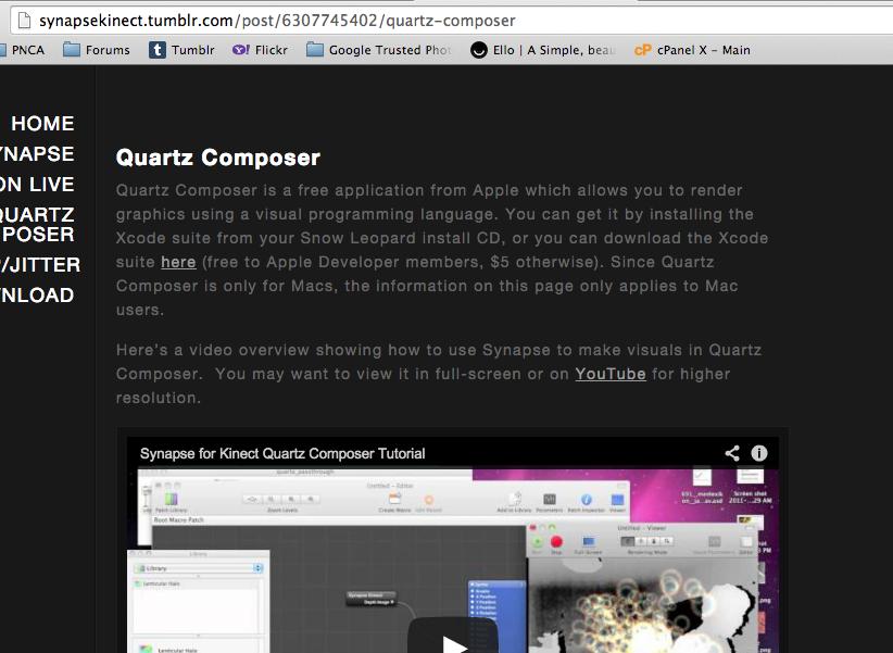 Izzy Kinect Quartz